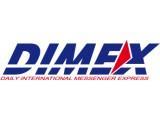 Логотип DIMEX, служба экспресс-доставки