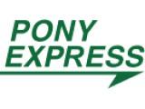 Логотип Pony Express, курьерская служба