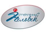 """Логотип """"Стеклянный человек"""" - Витражная студия"""