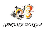 "Логотип ""Service Volga"" диспетчерская служба"